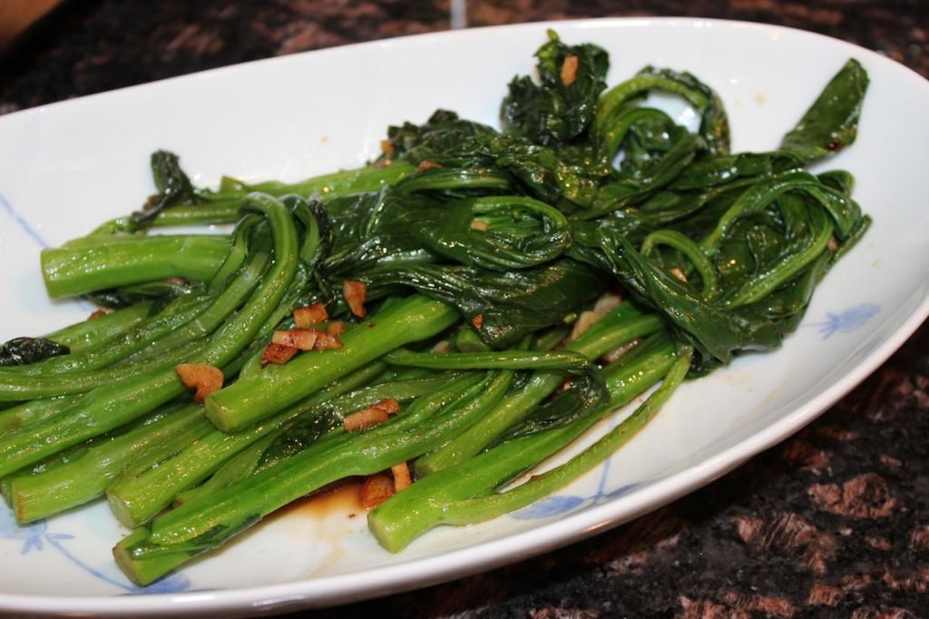 Stir fried Chinese broccoli (Gai Lan) - Life Bites