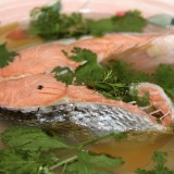 Wild sockeye salmon soup recipe